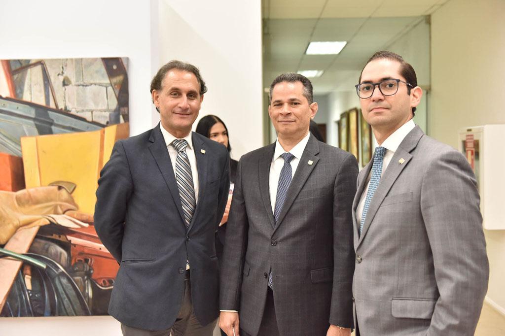Julio Andújar, Joel Tejeda y Joel González
