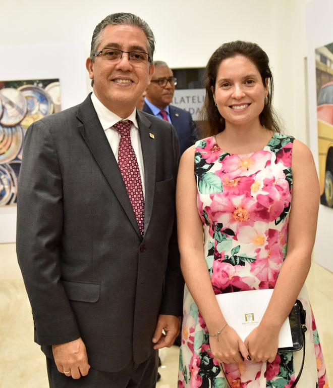 Luis Martín Gómez y Karen González