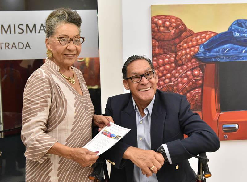 Eulalia Flores y Víctor Inoa