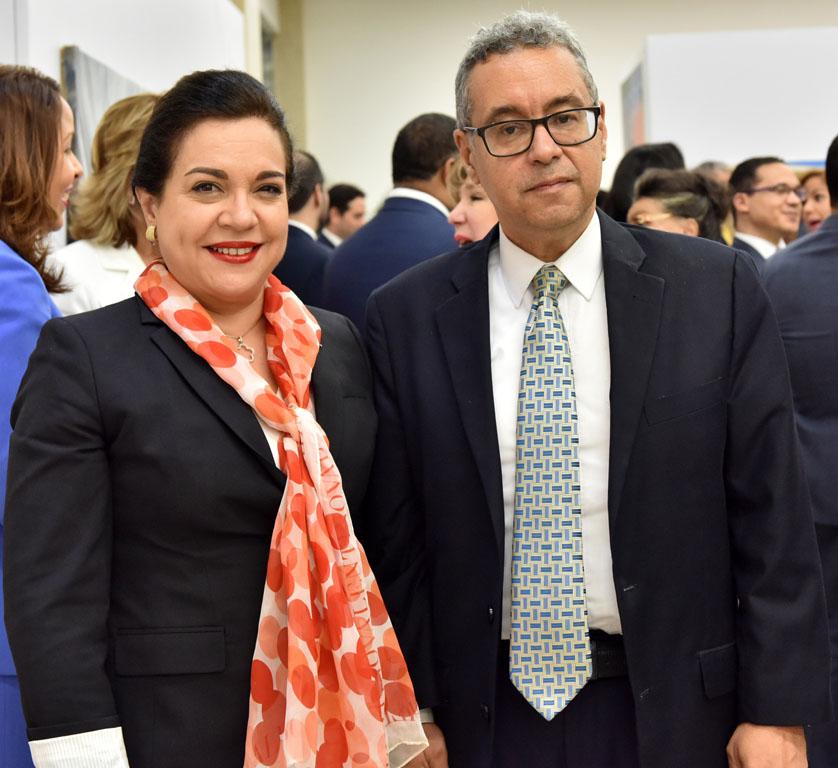 Fabiola Herrera y Vladimir Velásquez
