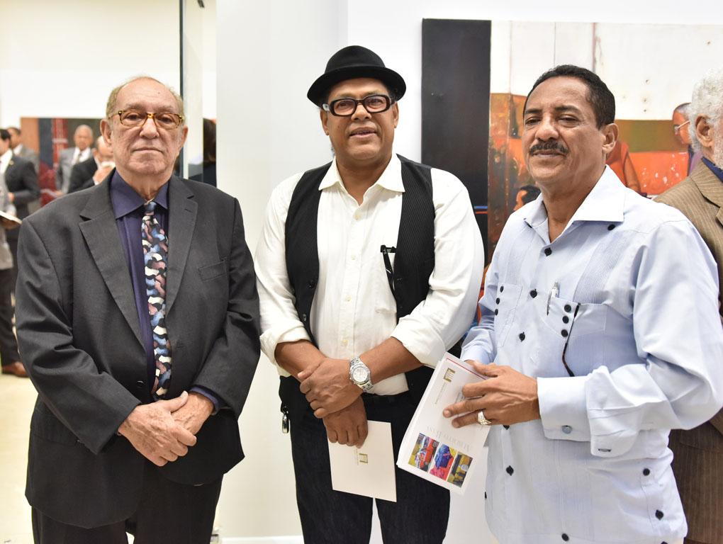 Pedro Céspedes, Elvis Avilés y Miguel Gómez