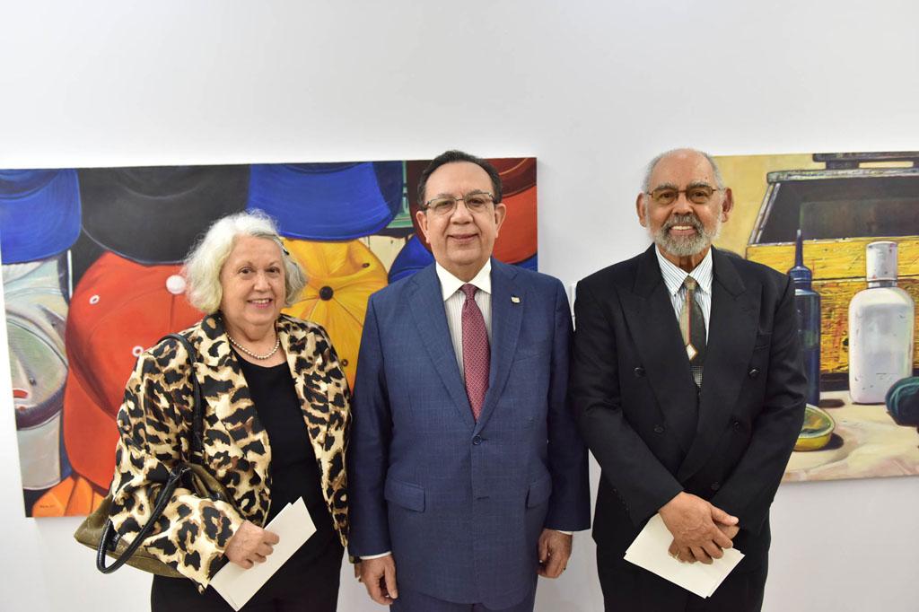 Natividad Abad, Héctor Valdez Albizu y Manuel Montilla
